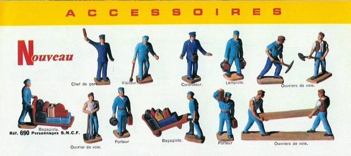 boîtes personnages hornby